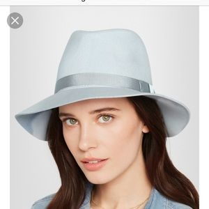 Rag and bone wool hat powder blue